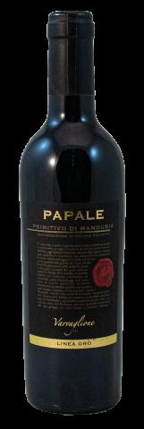 Papale Linea Oro, Primitivo di Manduria, DOP, 37,5 cl | Rotwein aus Apulien