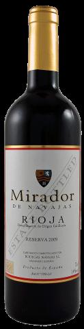 Mirador de Navajas, Rioja Reserva DO   Rotwein aus Rioja