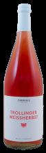 Zimmerle, Trollinger Weißherbst, QbA, Bio, 1 Liter | Rosé aus Württemberg